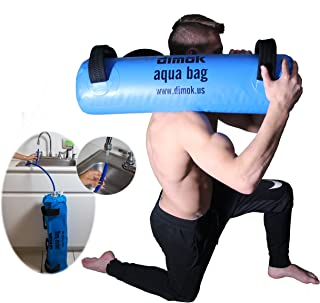 Workout Sandbag Alternative Aqua Bag Training Weight Bag Sandbags for Fitness - Crossfit Water Weights Full Body Exercise Equipment - Comes w Pump