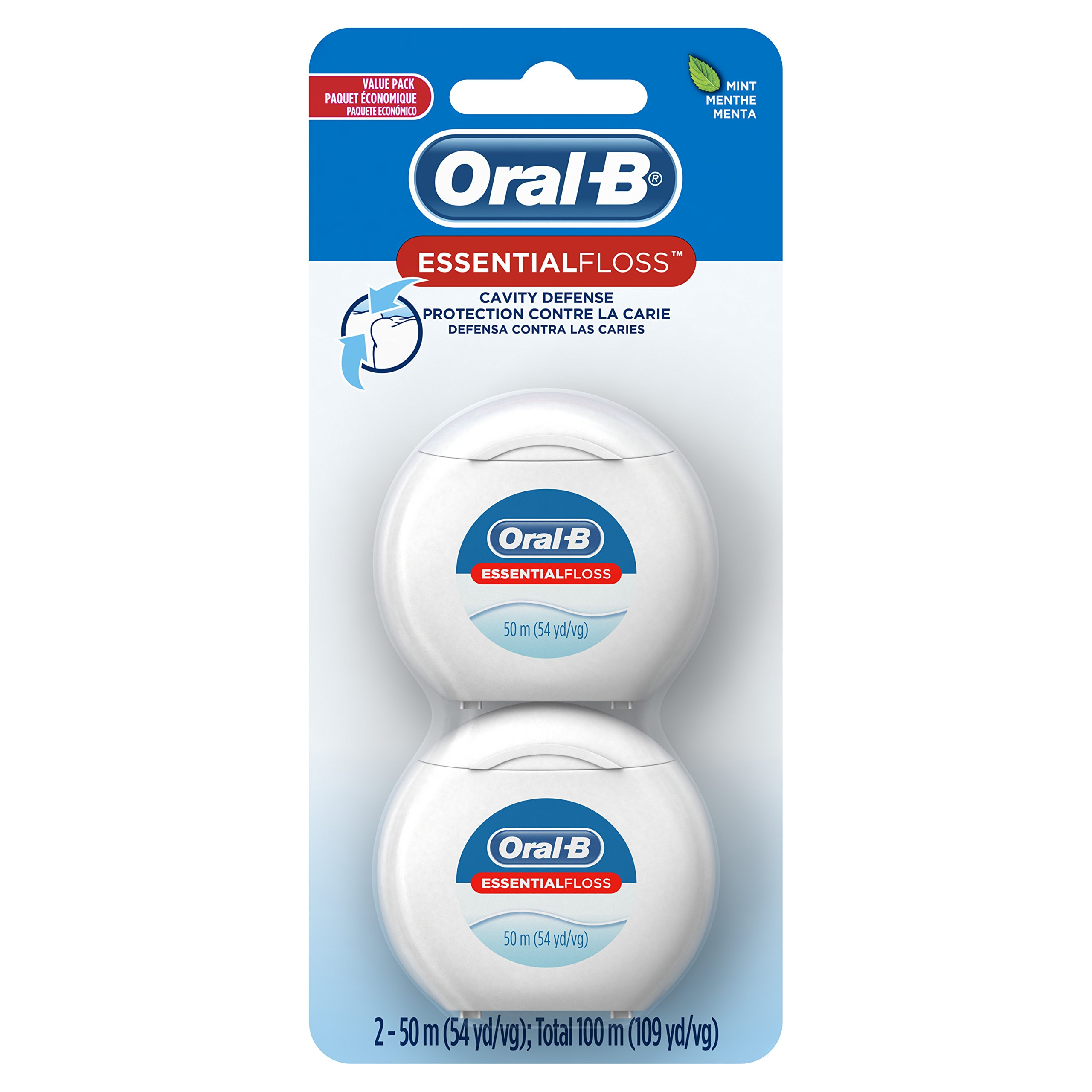 Oral B EssentialFloss Cavity Defense Dental