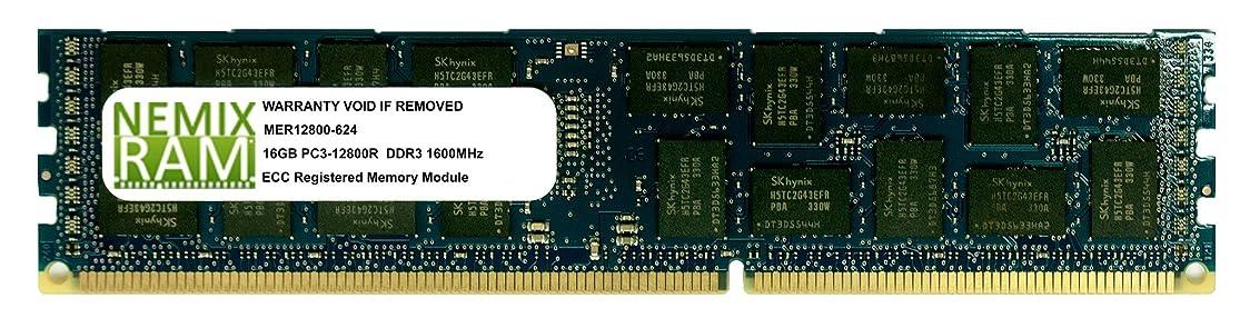 金曜日責め適切なNemix Ram 16?GB pc3?–?12800?ECC Registered 2rx4?HP 684066-b21メモリモジュール