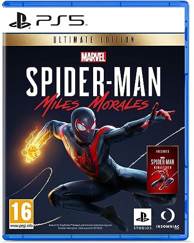 Sony, Marvel's Spider-Man : Miles Morales sur PS5, Jeu d'action et d'aventure, Ultimate Edition, Version physique, En...
