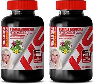 Sexual Boost for Women - Female Arousal Enhancement Pills Complex - catuaba and Muira puama - 2 Bottles 120 Capsules