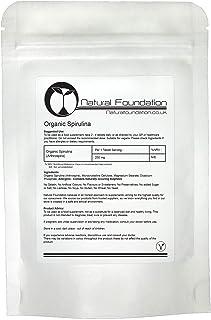 Organic Spirulina Tablets 250mg Detox Cleanse Boost Immune