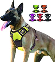 SENYEPETS Dog Harness, Escape Proof Adjustable Mesh Vest with Reflective Silk Perfect for Small Medium Large Dogs