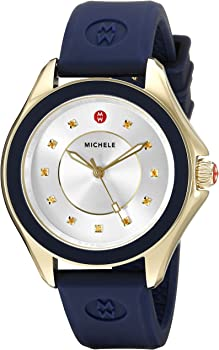 MICHELE Cape Gold-Tone Stainless Steel Women's Watch