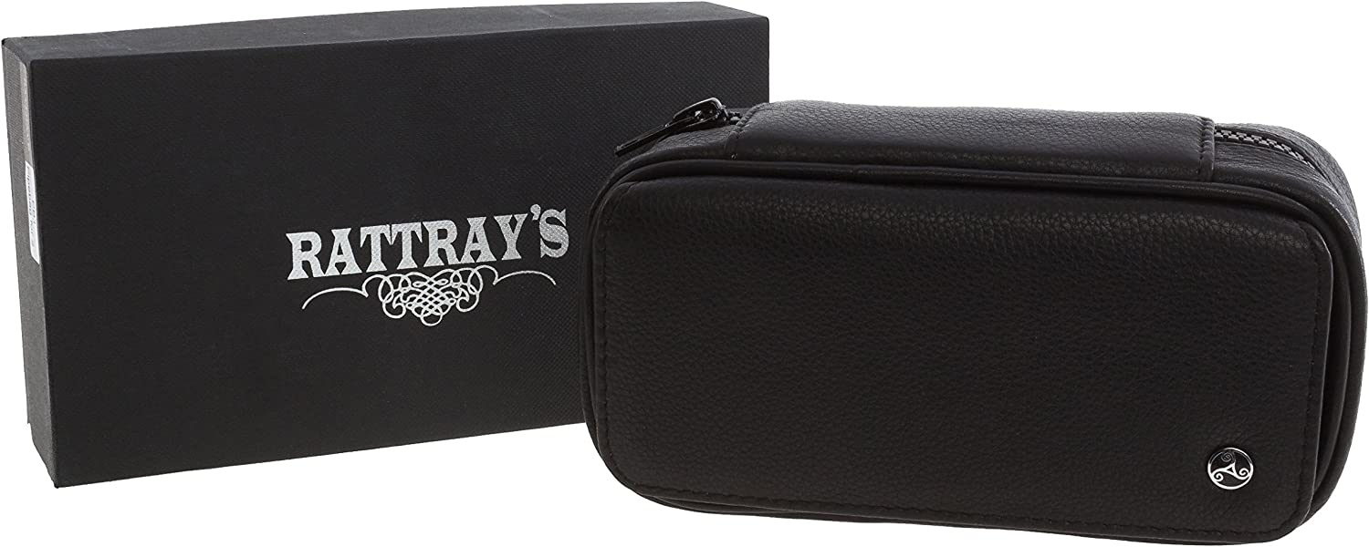 Rattray's 2 Pipe Bag Deluxe Sacramento Mall Leather