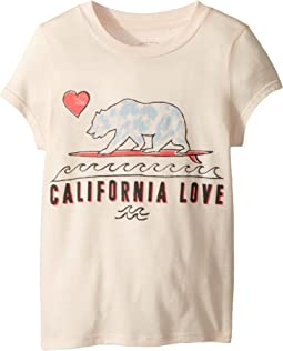 Cali Love Waves T-Shirt (Little Kids/Big Kids)