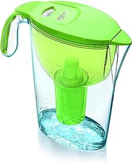 LAICA L700458 Carafe d'eau filtrante, Plastique, Vert, 28 x 8 x 7 cm