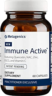 Metagenics Immune Active™ – Featuring Quercetin, NAC, Zinc, EGCG, and Vitamin C – 30 Servings