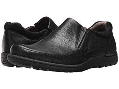 Born Nigel Slip-On (Black/Black Combo) Men
