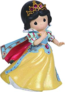 Precious Moments, Disney Showcase Collection, Girl As Snow White, Resin Rotating Music Box, 124105