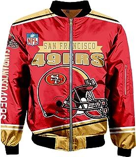 Super Bowl Champions Jackets Mens Autumn Winter Outdoor Sports Big Size Outerwear Coats
