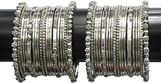 Best bollywood silver bangles Reviews