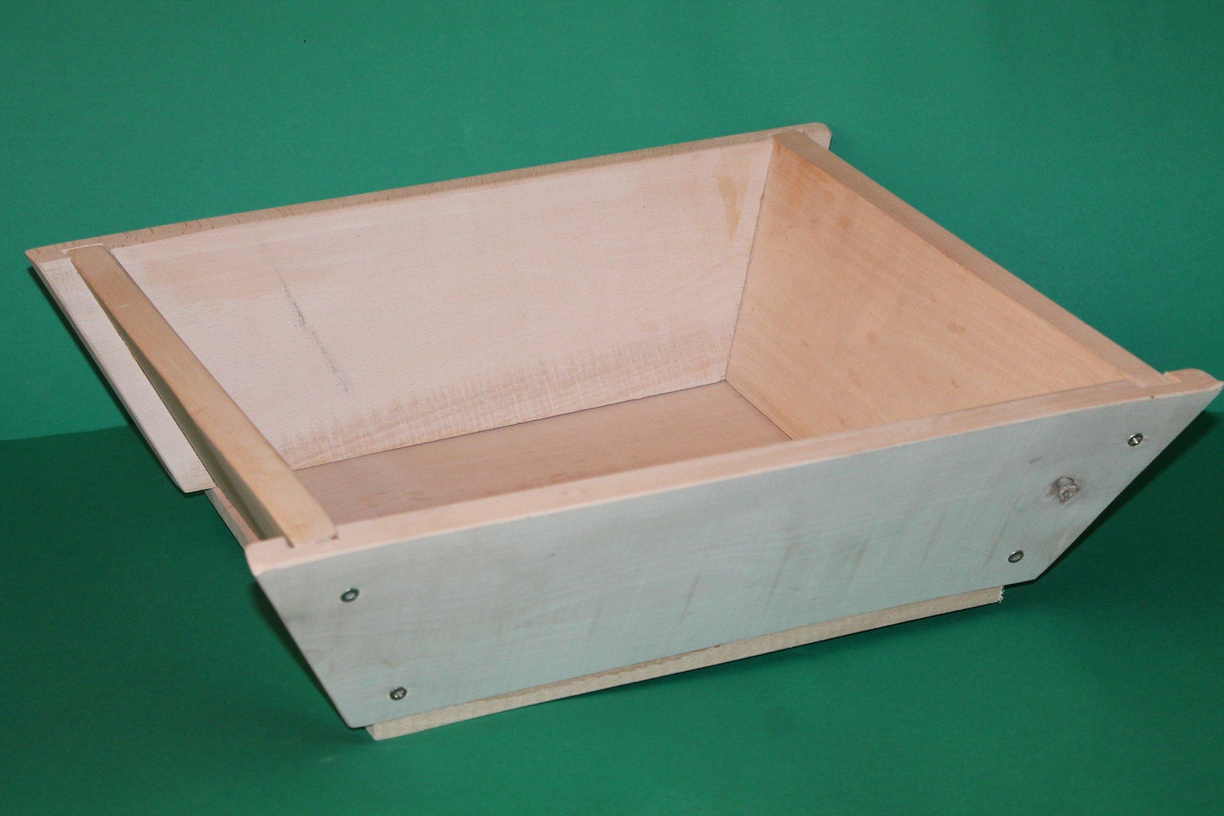 Maidda: caja de madera media Bandeja para amasar o sobar la harina ...