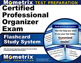 Certified Professional Organizer Exam Flashcard Study System: CPO Test Practice Questions & Review for the Certified Professional Organizer Examination (Cards)
