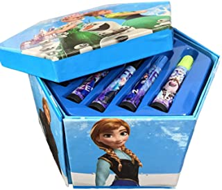 BabyBaba Colors Box Color Pencil ,Crayons, Water Color, Sketch Pens Set of 46 Pieces (Random) (Frozen)
