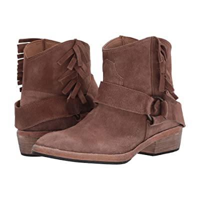 Free People Bandalier Ankle Boot (Taupe) Women