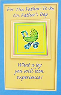 For The Father-To-Be on Father's Day Greeting Card -