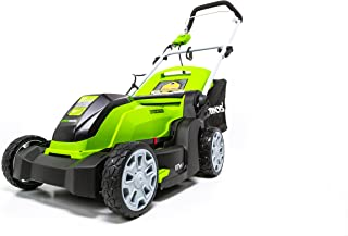 Greenworks 17-Inch 10 Amp Corded Electric Lawn Mower MO10B00
