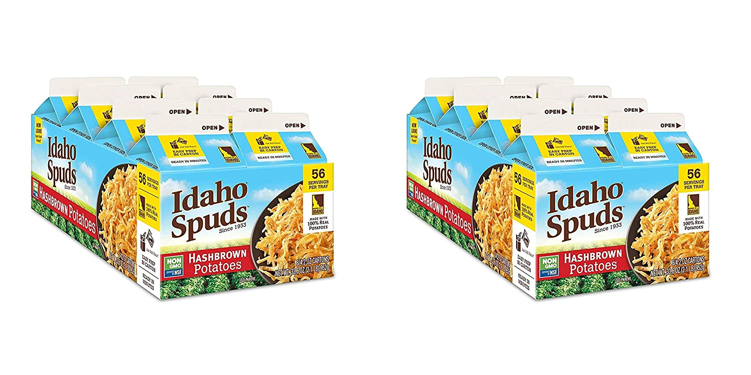 Idaho Spuds Premium Hasbrown Potatoes Pack Made 4.2oz Max Free shipping / New 70% OFF 8 from