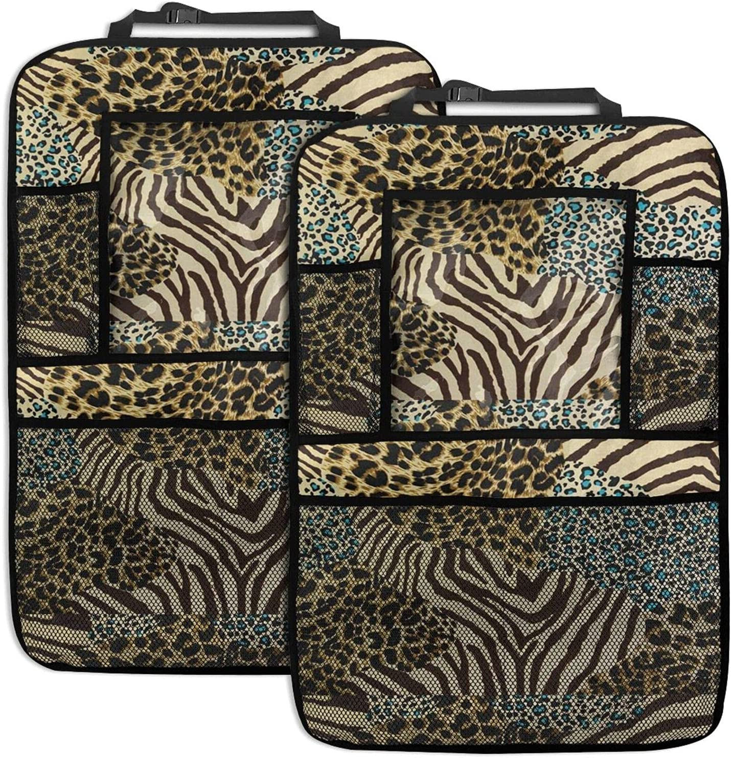 Leopard Print Max 55% OFF Car Seat Back Function Or Organizer Max 65% OFF Multi