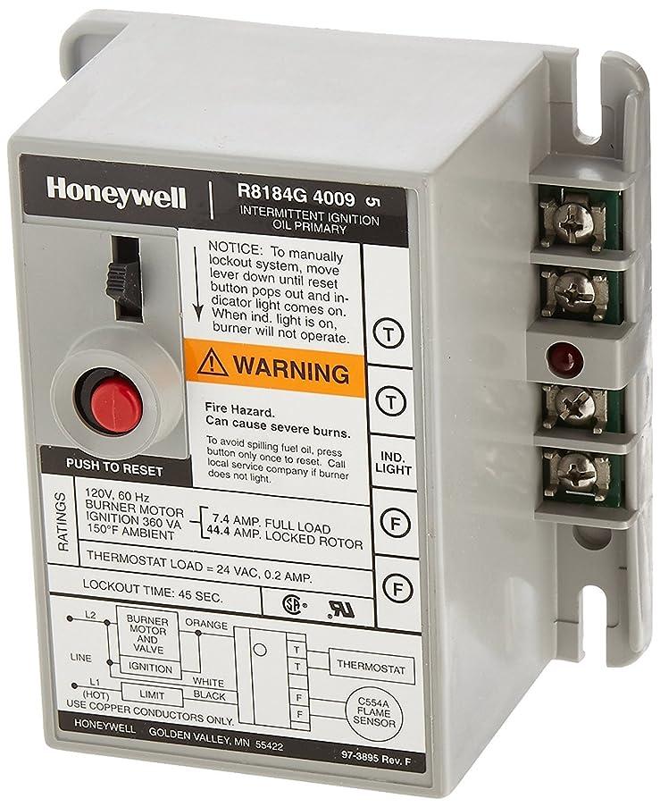 Honeywell Protectorelay Oil Burner Control Automatic, Standard 24 V