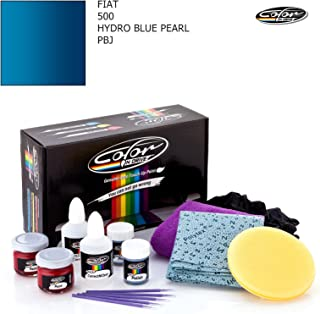 Fiat 500 / Hydro Blue Pearl - PBJ/Color N Drive Touch UP Paint System for Paint Chips and Scratches/Basic Pack