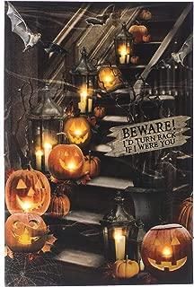 Ohio Wholesale Halloween Beware I'd Turn Back LED Art 24