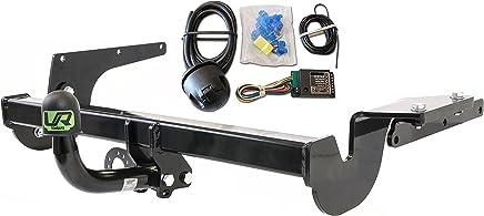 Umbra Rimorchi Fixed Swan Neck Towbar with 7 pin Bypass Relay for Kia Venga Hatchback 2009 On UT191COR13ZFM//WU800UK3