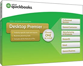 QuickBooks Desktop Premier 2018 with Industry Editions [PC Disc] [OLD VERSION]