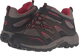 Merrell Kids - Hilltop Mid Quick Close Waterproof (Little Kid)