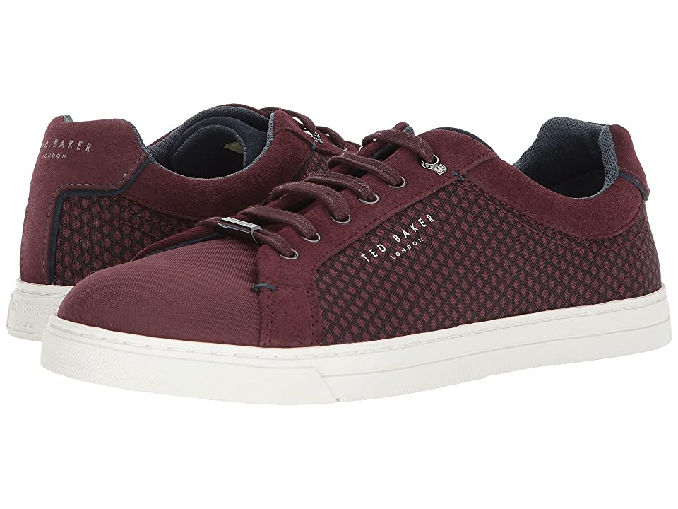 Ted Baker Sarpio (Dark Red Textile) Men