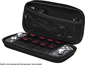 iMW Carrying Case For Nintendo Switch Lite , Black