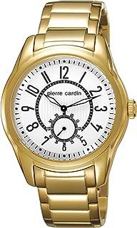 Pierre Cardin Men's Quartz Watch Comte PC104241F07 with Metal Strap