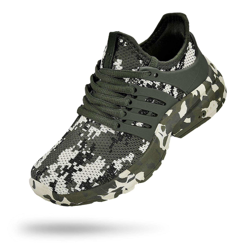 Troadlop Kids Shoes Lightweight Slip On Breathable Running Walking Tennis Shoes for Girls Boys