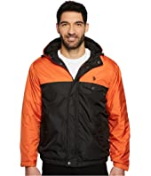 U.S. POLO ASSN. - Color Block Fixed Hood Windbreaker