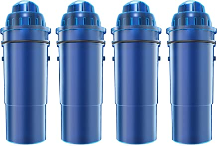 AQUACREST Replacement CRF-950Z Pitcher Water Filter, Compatible with Pur CRF-950Z Pitcher (Pack of 4)