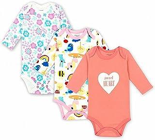 c43975e4d Smakke 3 Pcs/Lot Cotton Baby Bodysuit Newborn Cotton Body Long Sleeve  Underwear