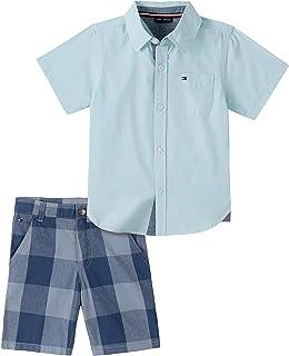 Boys' 2 Pieces Shirt Shorts Set