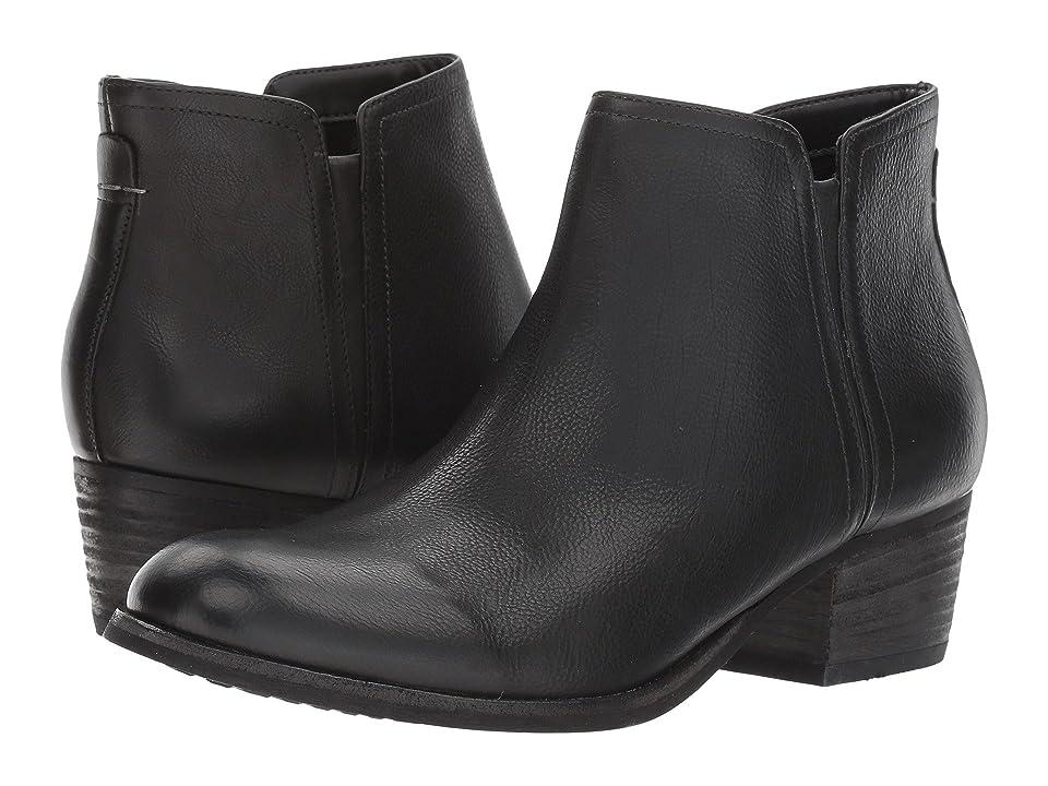 Clarks Maypearl Ramie (Black Leather) Women