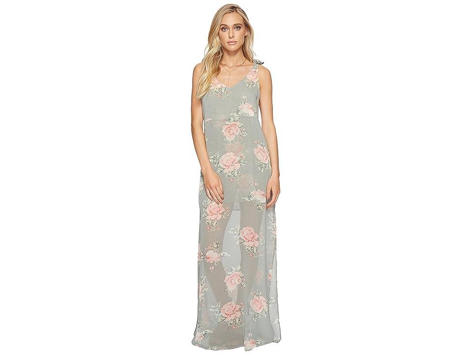 Show Me Your Mumu Rosen Maxi Dress (Sweetheart Sage) Women