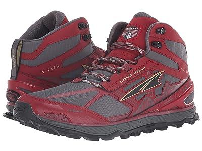 Altra Footwear Lone Peak 4 Mid Mesh (Red) Men