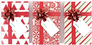 Hallmark Holiday Gift Card Holders, Red (Pack of 3)