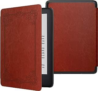 ATiC NEW Kindle Newモデル ケース Kindle 第10世代 2019用 軽量 薄型 保護カバー 耐久性 耐衝撃 落下防止 オートスリープ機能付き Vintage Style