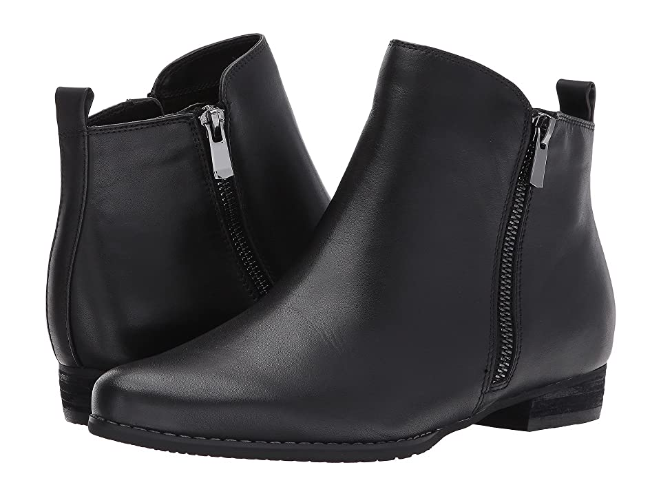 Blondo Lynne Waterproof Bootie (Black Leather) Women