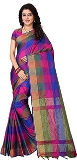 Om Sai Latest Creation Silk With Blouse Piece