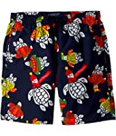 Vilebrequin Kids - Sweater Turtles Swim Trunk (Big Kids)
