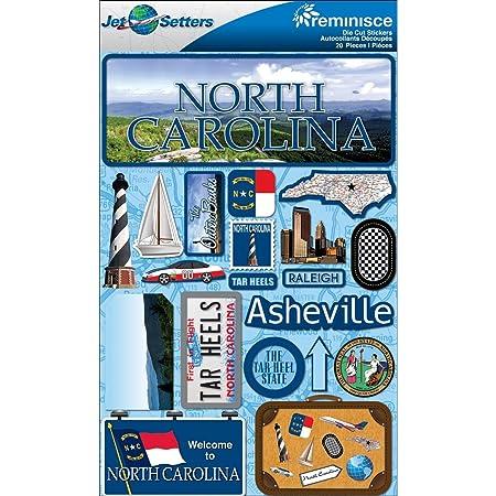 North Carolina Tar Heels Scrapbook Page Kit