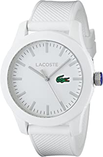 Lacoste Men's 2010762 Lacoste.12.12 White Watch with...