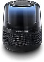 Harman Kardon Allure Voice-Activated Home Speaker with Alexa, Black (Renewed)