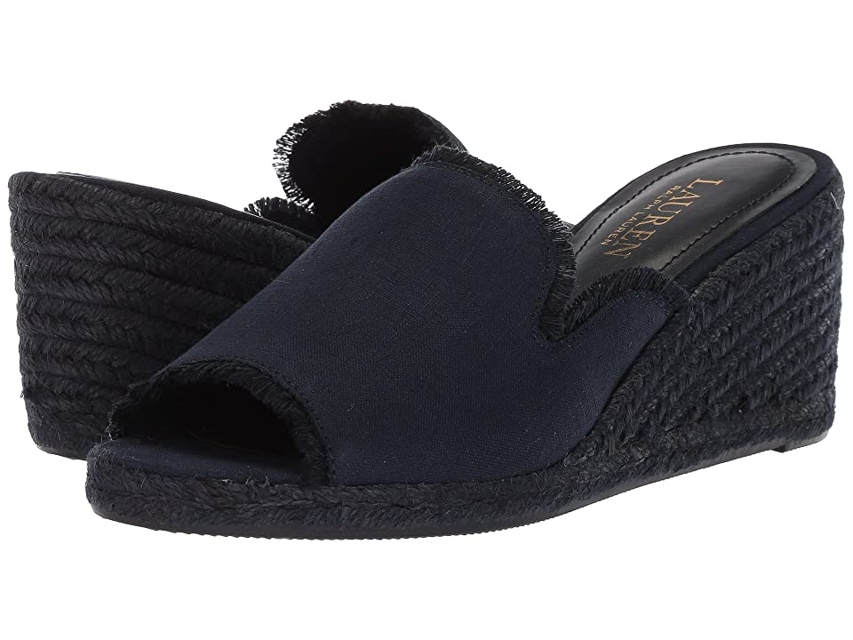 LAUREN Ralph Lauren Carlynda (Dark Midnight Linen) Women